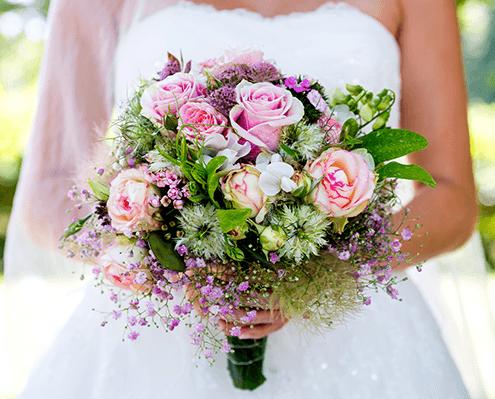 Brautstrauss und andere Hochzeitsfloristik in Oer-Erkenschwick