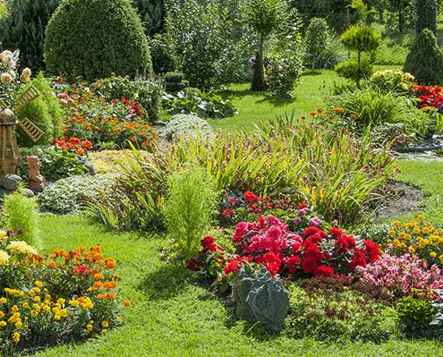 Grabgestaltung Pflanzen Friedhof Oer-Erkenschwick