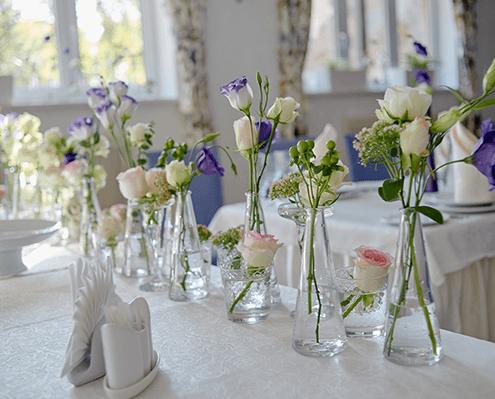 Tischdekoration Hochzeit und andere Hochzeitsfloristik in Oer-Erkenschwic