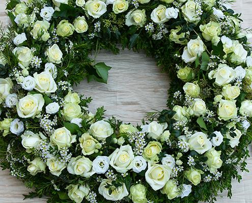 Trauerkranz und andere Trauerfloristik in Oer-Erkenschwick